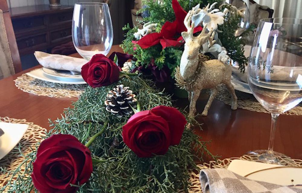 簡単にできるおもてなしクリスマステーブル (2018年12月14日開催)